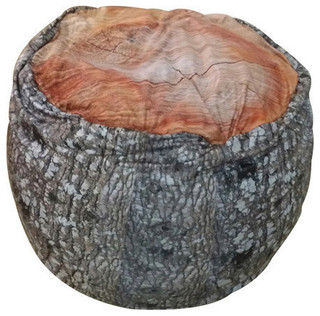 Tree Stump Beanbag   Contemporary   Bean Bag Chairs   By DOGZZZZ