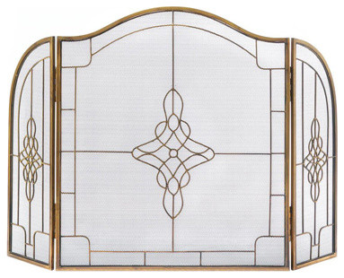 Art Deco Fireplace Screen.