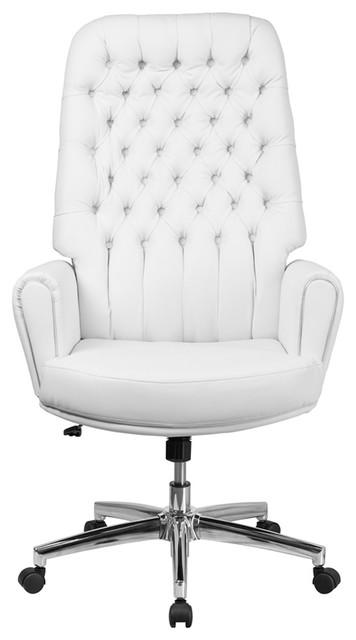 White High Back Executive Chair