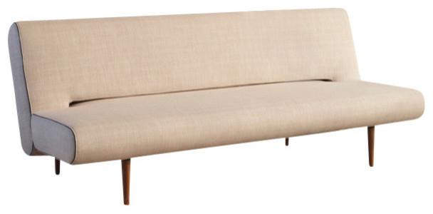 Unfurl Sofa, Heavy Natch Natural Modern Sleeper Sofas