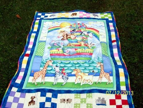 Noahs Ark quilt made on request : noahs ark quilt - Adamdwight.com