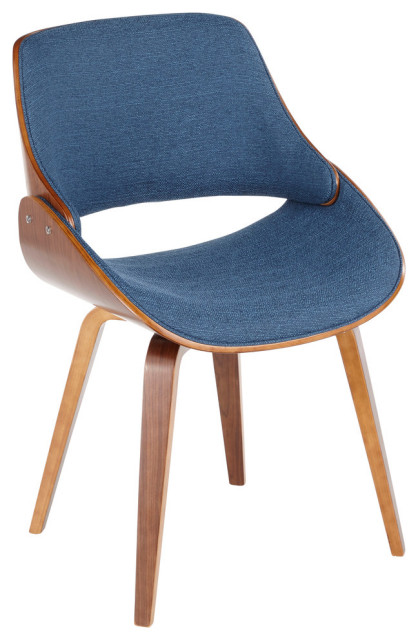Lumisource Fabrizzi Dining/Accent Chair, Blue
