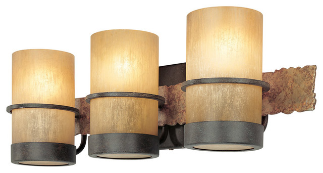 bamboo bathroom vanity lights  rustic  bathroom vanity lighting, Home design