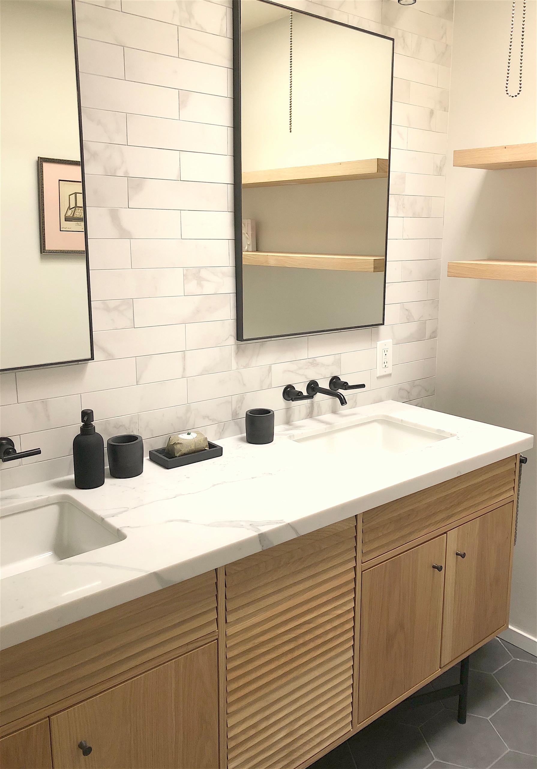 Tiny Daly City Bathroom gets renovated, 2020