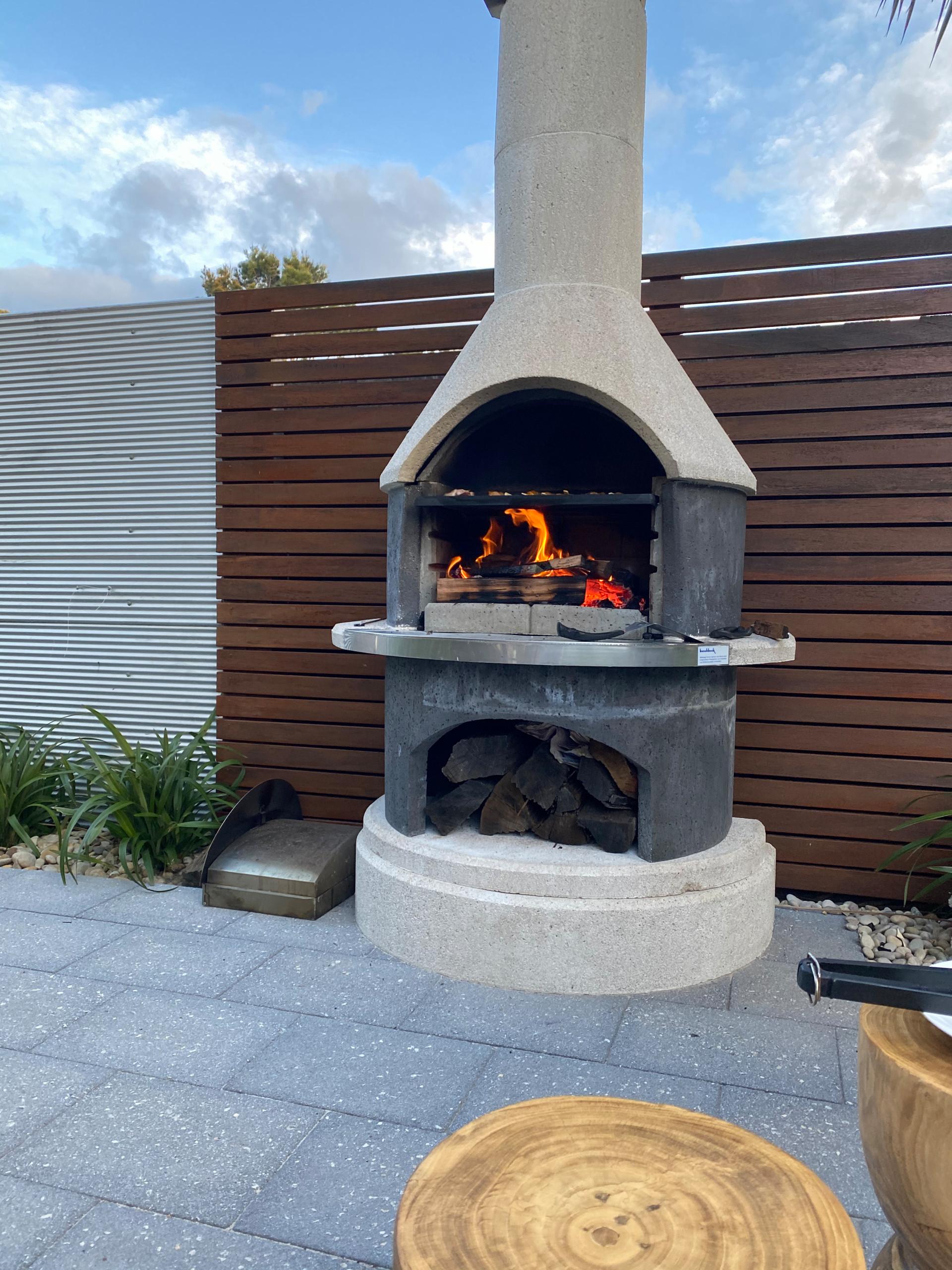 Buschbeck outdoor fire