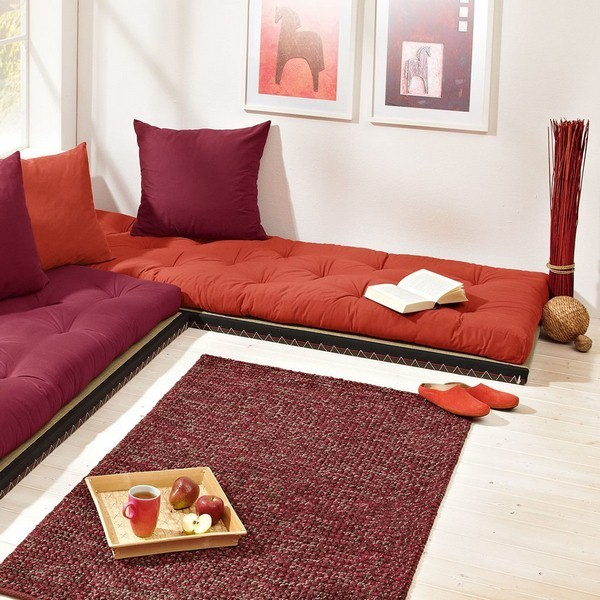 Futon Mattress On Floor With Tatami Mat New York By Urban Futons Dr Futonberg