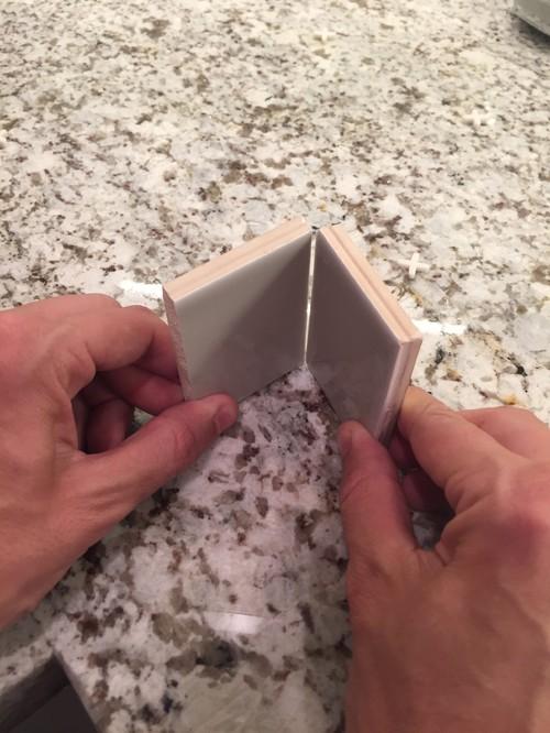 Subway tile backsplash inside corners - Backsplash corners ...