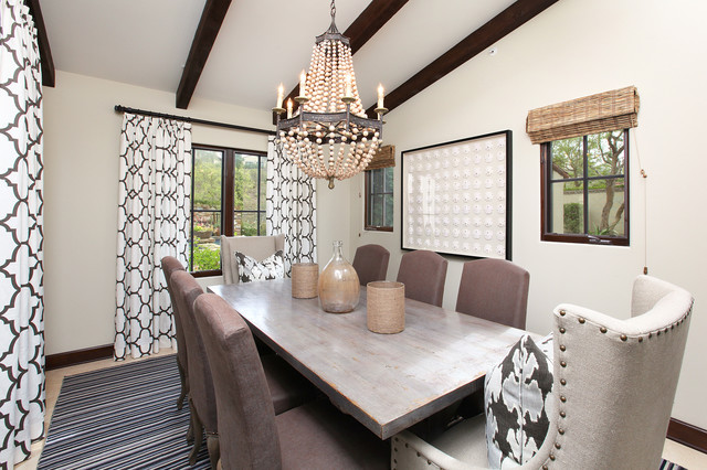 Shady Canyon Dining Room traditional