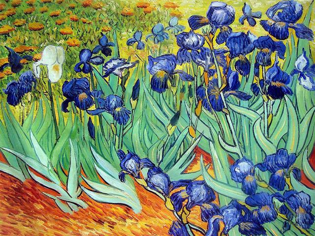 Van Gogh - Irises modern-paintings
