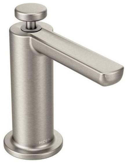 Moen Modern Soap Dispenser, Spot Resist Stainless by Moen