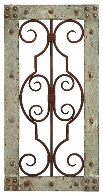 Wood And Metal Wall Panels wood metal wall panel - rustic - wall accents -brimfield & may