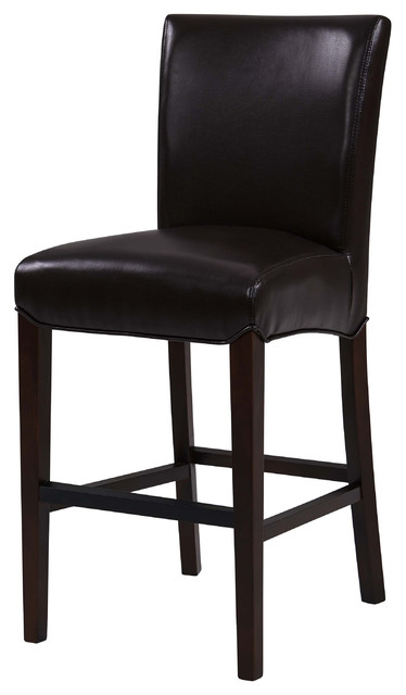 13df9f1214e4 Milton Bonded Leather Counter Stool - Transitional - Bar Stools And ...