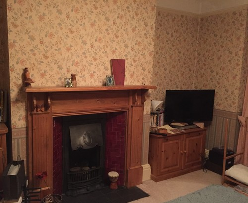 Idea for fireplace and alcoves