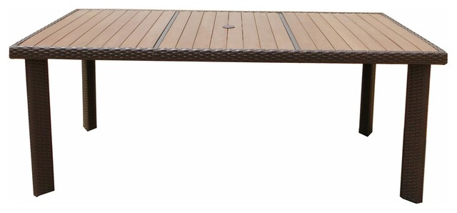 South Beach Rectangle Dining Table.
