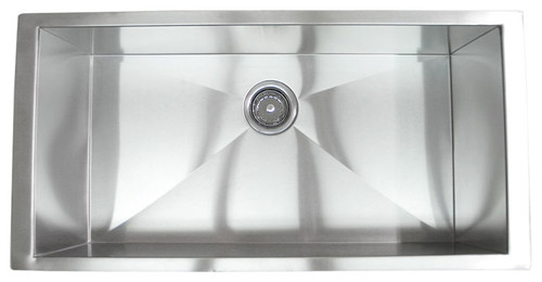 what is the largest stainless steel sink available