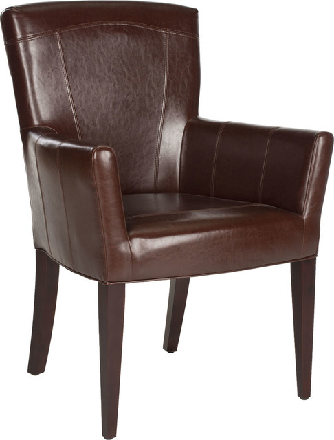 Dale Arm Chair, Brown.