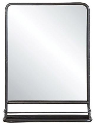 Creative Co Op Metal Mirror With Shelf 19 5x27 5