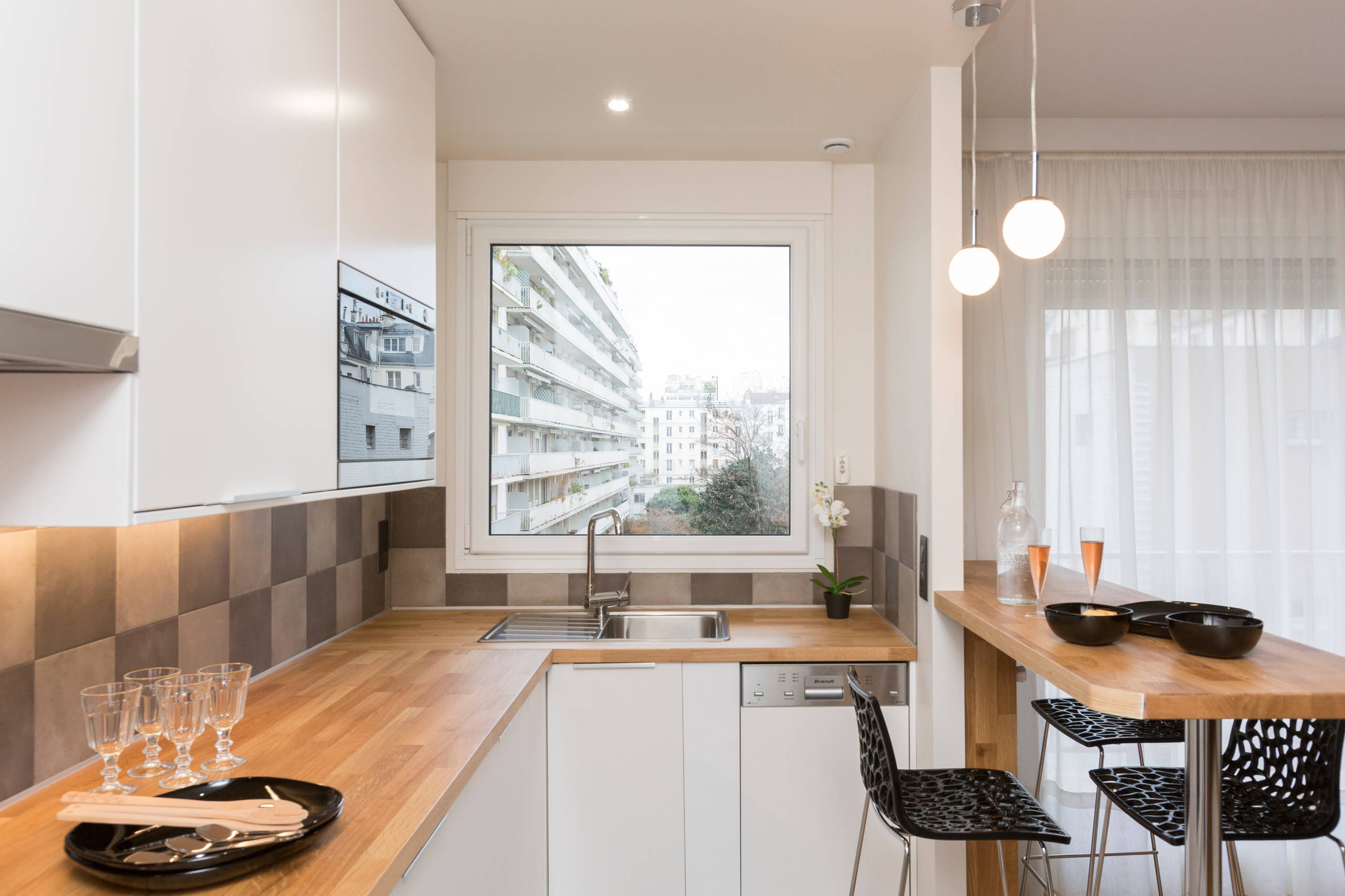 Appartement F2 paris 15 pour la location