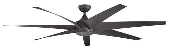 Kichler Lehr Distressed Black Ceiling Fan