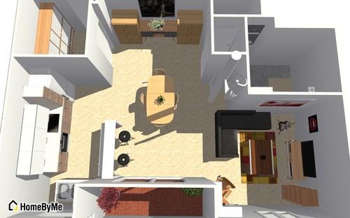 plan appartement 43 m2