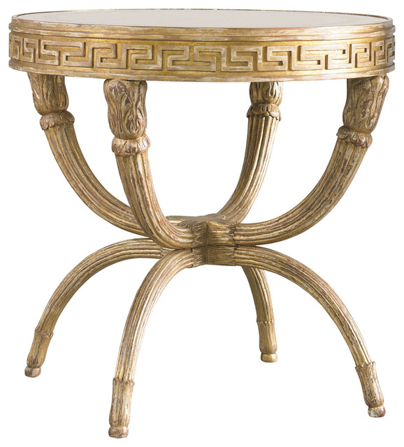 Lillian August Park Avenue Lamp Table LA94327 01  Mediterranean Side Tables And