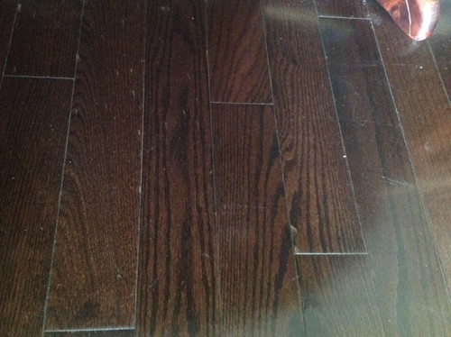 Help For My Hard Wood Floors Dark Espresso Got Scratches From Moving