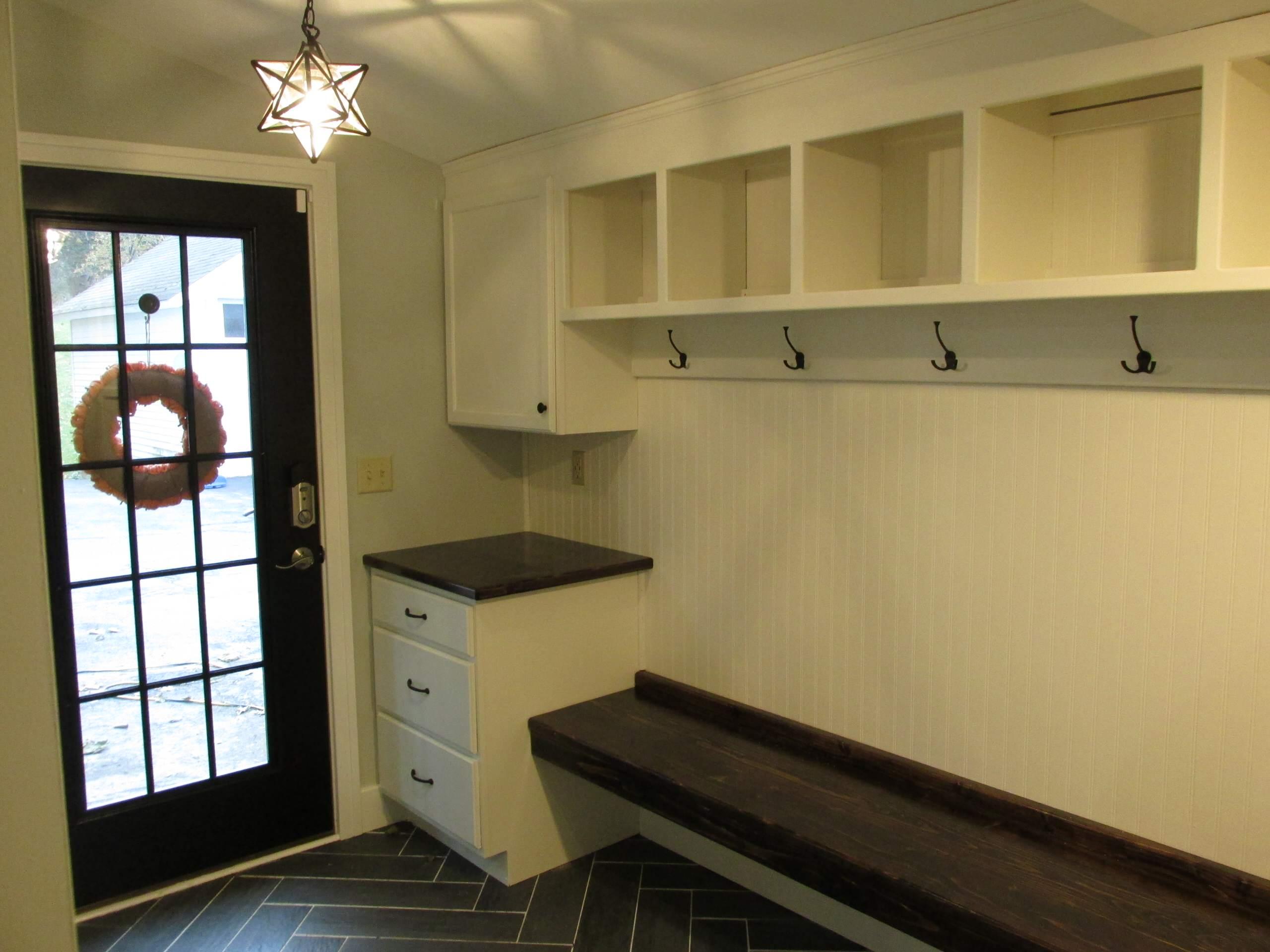 Mudroom/ Entryway Home Addition