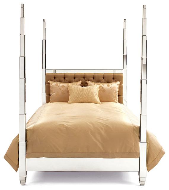 Four Poster Bed Prism Bed Modern Platform Beds By
