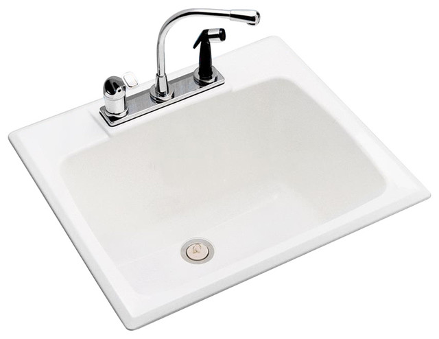 Mustee, E. L. Drop In Laundry Tub 10