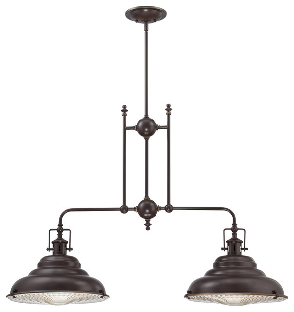 Quoizel Eastvale Light Island Chandelier EVEPN Traditional - 2 light island chandelier