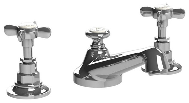 Superieur Lefroy Brooks   Classic Cross Handle Faucet, Polished Chrome .