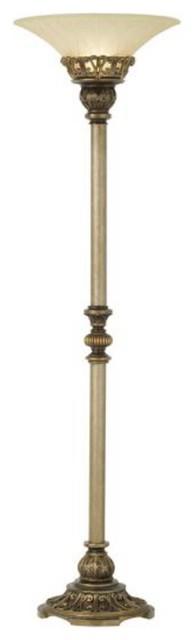 Taboo Floor Lamp, Brown