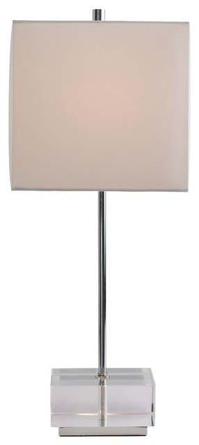 Santana Lightingtable Lamp White Square 10  : contemporary table lamps from www.houzz.com size 286 x 640 jpeg 13kB