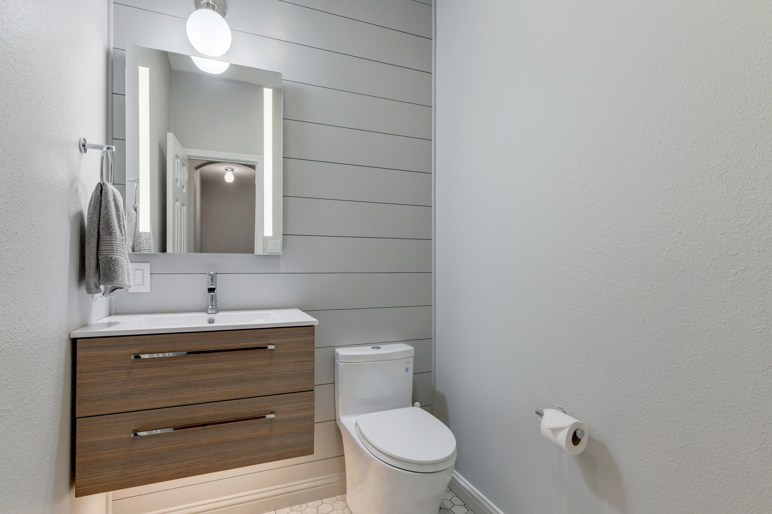 Modern Half Bath