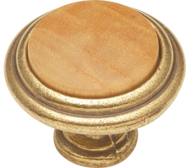 Hickory Hardware - Wood grain Oak Cabinet Knob & Reviews | Houzz