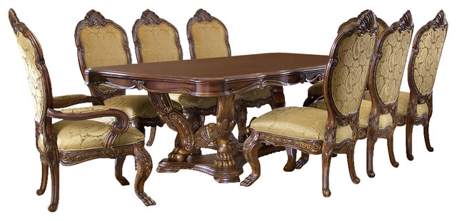 9 Piece Chateau Beauvais Dining Table Set Victorian Dining Sets By Warehouse Direct Usa