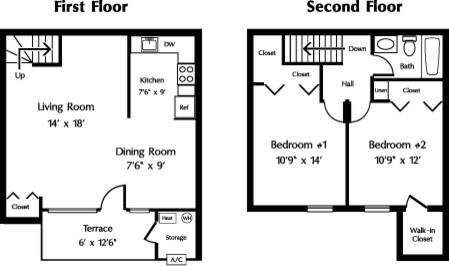 Difficult Living Room Layout