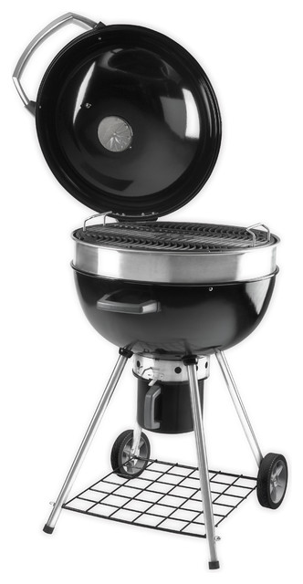 Napoleon Pro22k Rodeo Professional Charcoal Kettle Grill.