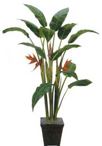 7 tall giant heliconia tree asian artificial flowers plants and