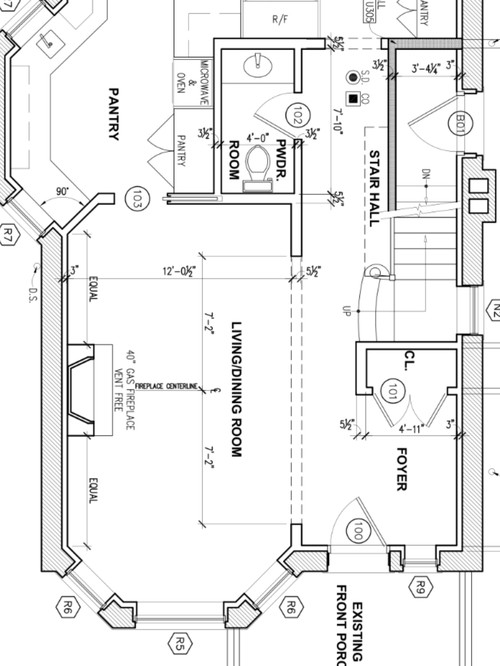 Need Advise About Furtinure Layout Of This Living Dining Room