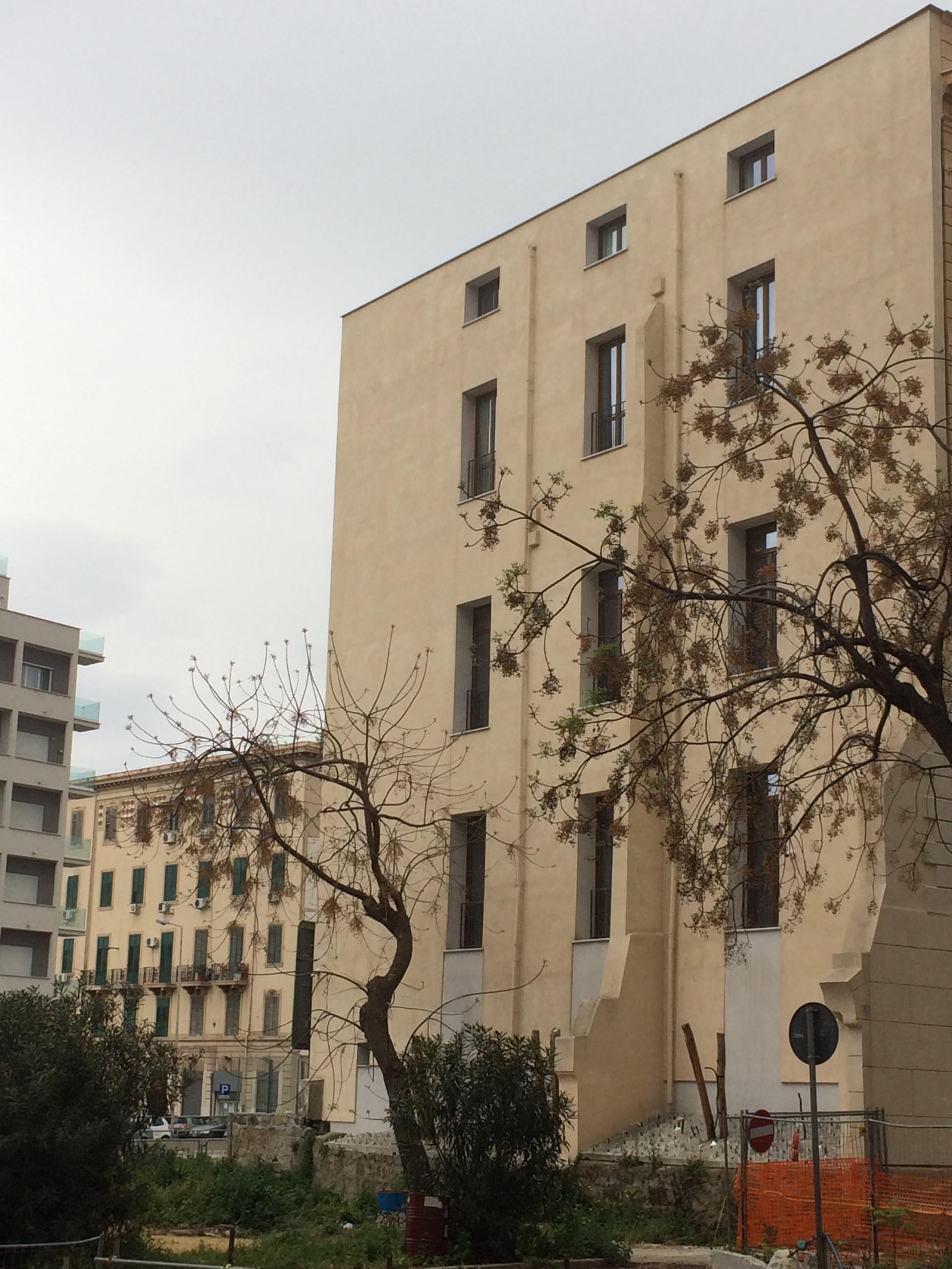 Intervento di riqualificazione edilizia a Piazza XIII Vittime, Palermo