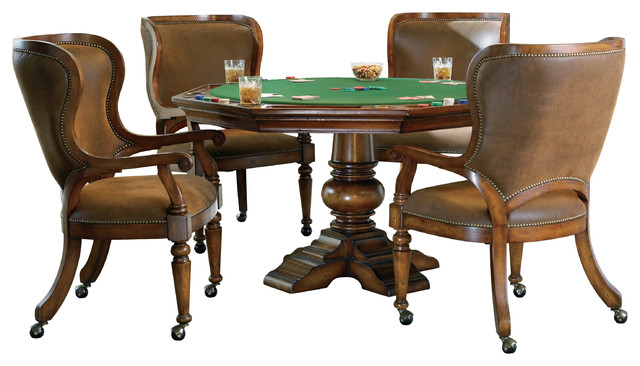 Hooker Furniture Waverly Place Reversible Top Poker Table  sc 1 st  Houzz & Hooker Furniture Waverly Place Reversible Top Poker Table ...
