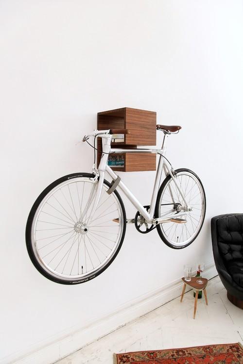 Bevorzugt Hereingeradelt! So verstaut man das Fahrrad in der Wohnung PW27