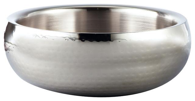 Elegance Hammered Stainless Steel Bowl