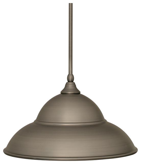 Toltec Lighting Stem Mini Pendant 16 Metal Shade