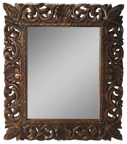 Butler Ferdinand Reclaimed Wood Wall Mirror.