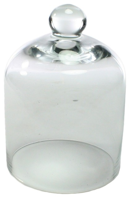 5 5 Glass Dome Cloche Finial Round Display