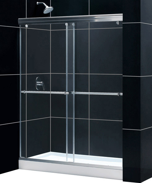Would This Door Be Compatible With The Kohler Bellwether Shower Base?
