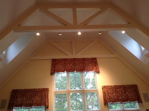 Would you paint these beams