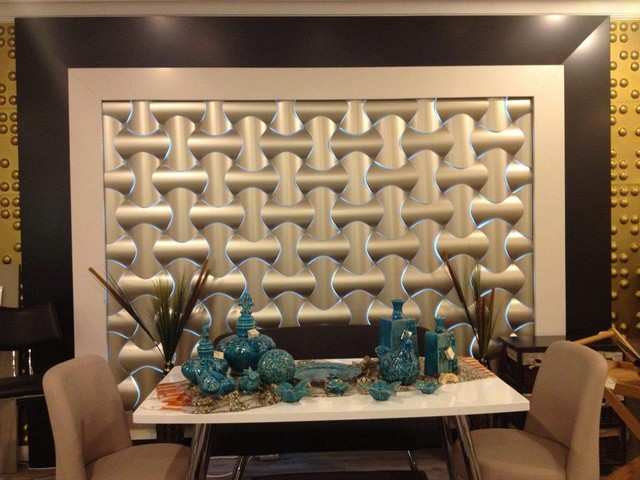 SPLINE Contemporary Home Decor Vancouver by 3D Wall Panels